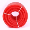 Труба гофрированная двустенная 50 мм с протяжкой красная