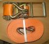 Стяжной ремень (строп) текстильный СТП-1,0/4000 РД-24-СЗК-01-01
