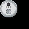 Видеоглазок с функцией звонка 61552 NDB-V-DC01-1V1-WH